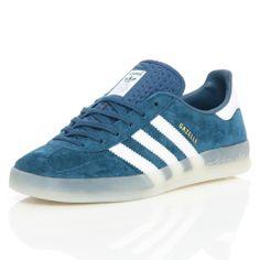 super popular b7f01 c2c15 Adidas Gazelle Indoor Tribe Blue Running White Neowhite D65410   Free UK  Shipping and