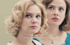 Farah Zeynep Abdullah as Sura........Seeing the love of her life marry another woman, Murvet a Turkish woman as Seyit's Father had wished, during an episode of Kurt Seyit ve Sura the Turkish TV series-2014.