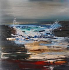 Incoming Wave by Scottish Contemporary Artist Rosanne Barr