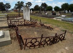 Greta Cemetery The final resting place of Ned Kelly's mother, Ellen Kelly (nee Quinn) Ned Kelly, Old Cemeteries, Cemetery, Hanging Out, Past, Scenery, Australia, In This Moment, History