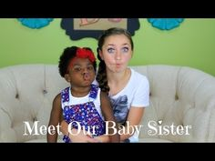 Meet Our Baby Sister | Brooklyn and Bailey must watch also if you like doing hairstyles check out there moms cannel cute girls hairstyles
