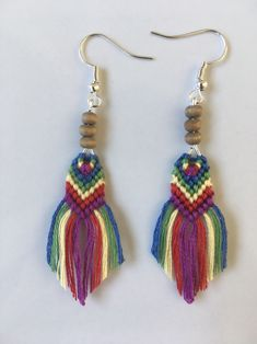 Another from my rainbow jewelry collection to support diversity.