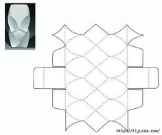 CLUB DE LAS AMIGAS DE LAS MANUALIDADES (pág. 727) | Aprender manualidades es facilisimo.com Origami Lamp, Origami Paper Art, Origami Box, Diy Paper, Paper Crafts, Cardboard Paper, Cardboard Crafts, Paper Toys, Cement Art