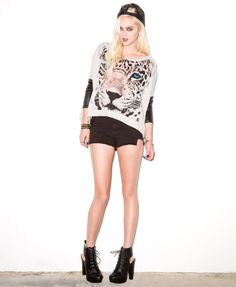 Boxy Tiger Graphic Pullover #capsule2point1 #webexclusive