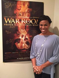 It was an absolute pleasure to have Priscilla Shirer on the show this morning, talking about her new book Fervent and acting debut in the new movie, War Room! Click for more behind-the-scene pics! #WarRoomMovie #Fervent #PriscillaShirer #700ClubSocial