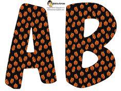 EUGENIA - KATIA ARTES - BLOG DE LETRAS PERSONALIZADAS E ALGUMAS COISINHAS: Alfabeto Halloween