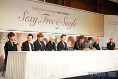 Super Junior SFS presscont