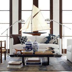 Sullivan Task Floor Lamp #williamssonoma $1250ea,