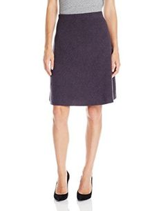 """""""NIC+ZOE Women's Textured Flirt Skirt  Color: Black Onyx 45% Cotton, 29% Rayon, 26% Modal Hand Wash Imported 22.5 inch length 22.5 inch length 22.5 inch length Perfect to pair with a solid or print top  """""""