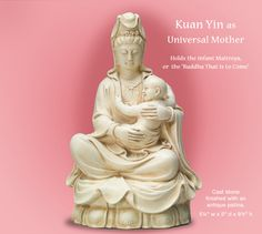$10 Off Kuan Yin with Baby thru Noon ET Thursday, May 5