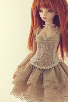 """Outfit """"Tan version"""" by Plume Blanche Créations, via Flickr"""
