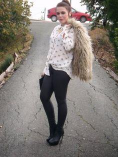 estefania579458 Outfit   Invierno 2012. Combinar Abrigo Beige Zara Woman, Camisa-Blusa Blanca Zara Woman, Cómo vestirse y combinar según estefania579458 el 27-11-2012