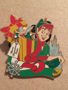 Peter Pan Mickey's Very Merry Christmas 25th LE Disney Pin