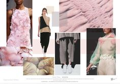 TRENDS // SPIN EXPO - COLOR AND MATERIALS/SEGMENTED WHITES . S/S 2017 | FASHION VIGNETTE | Bloglovin'