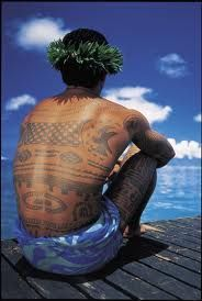 Polynesian tattoo #polynesian #tattoo