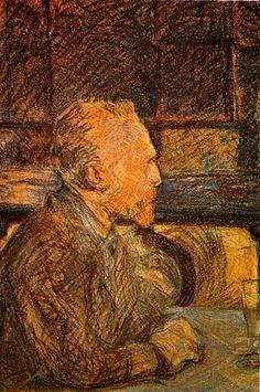 Portrait of Vincent Van Gogh: 1887