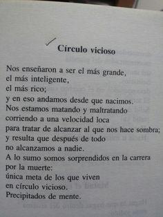 """eldominionoexiste:  Gonzalo Arango - Círculo vicioso (En """"Providencia"""")"""