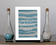 Personalized Unity Sand Ceremony Shadow Box Set