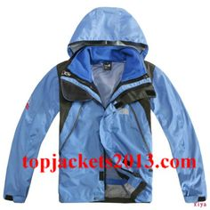 1e076fbb9629 ... The North Face Outlet Kids Gore Tex Xcr Summit Series Hoodie Jacket  Blue Black ...