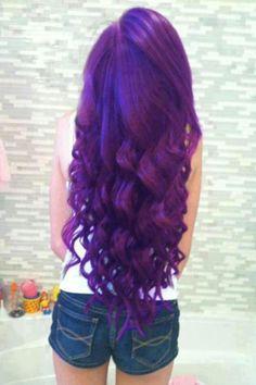 My Next hair color Purple Hair hair beautiful purple long hair hairstyle hair ideas Dye My Hair, New Hair, Love Hair, Gorgeous Hair, Dark Purple Hair, Violet Hair, Deep Purple, Purple Tips, Purple Rain