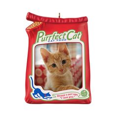 Purrfect Cat                  Keepsake Ornament                                                               $12.95