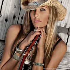 #female #poses #senior #country