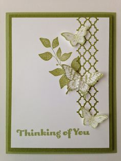 Stampin' in the Sun!: Beautiful and Simple with Summer Silhouette and Papillon Potpourri