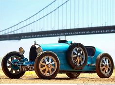 1925 Bugatti Type 35 Grand Prix Powered by a 2.0-liter 8-cylinder engine, the Bugatti Type 35 was one of the most successful racecar designs of its era, winning over 1,000 races.  This particular car was built in the summer of 1925 and has been raced most of its life