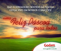Feliz Páscoa para todos!!! Acesse nosso site: www.godam.com.br