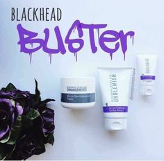 Blackheads be Gone!!!!  This magical combo will KNOCK OUT those gross annoying pore cloggers!!!! Enhancements MD Paste (which is my FAVORITE) + Unblemish wash + oil control lotion for maintenance. Contact me at jamiemarquet.myrandf.com and we can knockout those blackheads