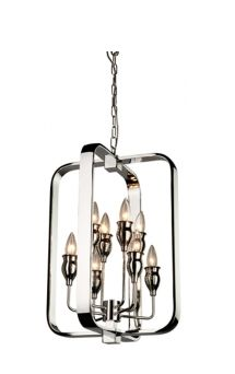 Buy the Artcraft Lighting Chrome Direct. Shop for the Artcraft Lighting Chrome Gagetown 8 Light Mini Chandelier - 15 Inches Wide and save. Foyer Chandelier, Mini Chandelier, Chandelier Lighting, Chandeliers, Lighting Showroom, Exterior Lighting, Chrome Plating, Candle Sconces, Arts And Crafts