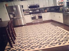 Shiny kitchen rug Pictures, luxury kitchen rug or kitchen area rugs extra large rug washable kitchen area rugs 96 kitchen area rugs Kitchen Rugs And Mats, Kitchen Area Rugs, Kitchen Flooring, Big Kitchen, Updated Kitchen, Kitchen Sink, Black And Grey Kitchen, Kitchen Upgrades, Best Kitchen Designs