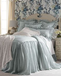 King+Savannah+Skirted+Coverlet+by+Pine+Cone+Hill+at+Neiman+Marcus.