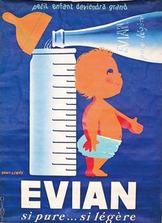 Vintage Advertising : Evian ~ Saint Genies Vintage Advertising Campaign Evian ~ Saint Genies Advertisement Description Evian ~ Saint Genies Sharing is love ! Vintage Advertising Posters, Vintage Advertisements, Vintage Posters, Advertising Campaign, Pub Vintage, Vintage Labels, French Vintage, Poster Ads, Poster