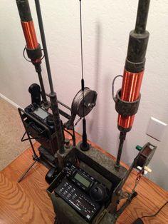 HF Ham radio Manpacks By N6VOA nick@countycomm.com