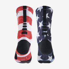 Nike Stars And Stripes Elite Crew Basketball Socks