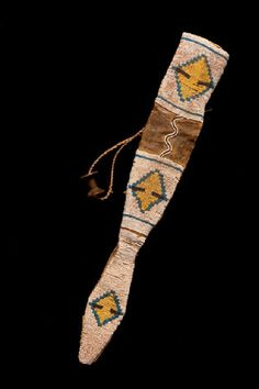 Blackfoot dagger sheath.  Yale Peabody Mus