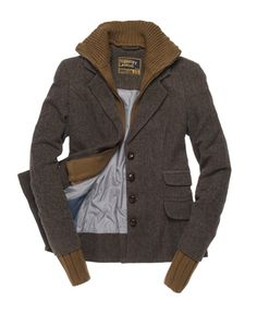 Superdry Hacking Knit Blazer