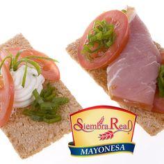 Prepara deliciosos snacks incorporando el exquisito sabor de #Mayonesa #SiembraReal