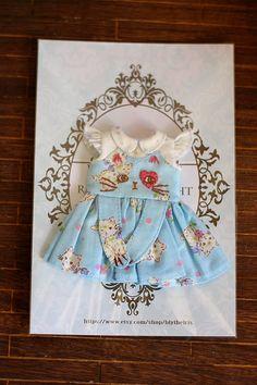 Ran's Blythe Doll Dress by RanSilentNight on Etsy