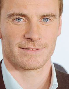 Michael Fassbender...such beautiful eyes