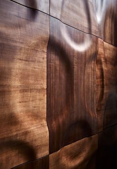- MOKO Interior's wooden wall coverings generated a great deal of interest at the Design exhibition in London, where the Hungari Interior Walls, Interior Design, Luxury Interior, 3d Wall Panels, 3d Texture, Wall Patterns, Wall Treatments, Wood Paneling, Panelling