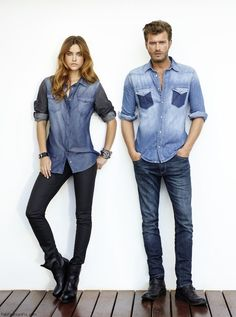 Barbara Palvin and Kivanc Tatlitug in Mavi Jeans campaign | Fab Fashion Fix