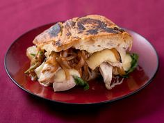 caramelized onion chicken and fontina panini more carmel onions ...