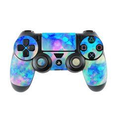 Electrify Ice Blue PlayStation 4 Controller Skin - - Ideas of - PlayStation 4 Controller Skins Decals Stickers & Wraps Playstation Portable, Playstation Games, Consoles, Xbox, Control Ps4, Nintendo Switch, Nintendo 3ds, Videogames, Youtubers