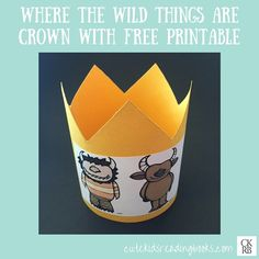 Where The Wild Things Are — Cute Kids Reading Books Wild One Birthday Party, Baby Boy 1st Birthday, Wild Ones, Wild Things, Kids Reading Books, Elementary Library, Play Based Learning, Book Week, Book Themes