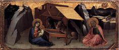 Lorenzo Monaco - Natività (Berlino) - 1390 - National Museum, Berlino