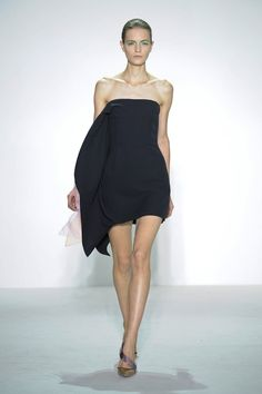 Dior rtw s/s 2013 little black dress
