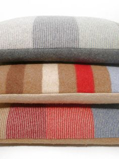 felted merino lambswool oblong cushion by weewoollies | notonthehighstreet.com