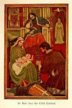 Sir Bors Sees the Child Galahad